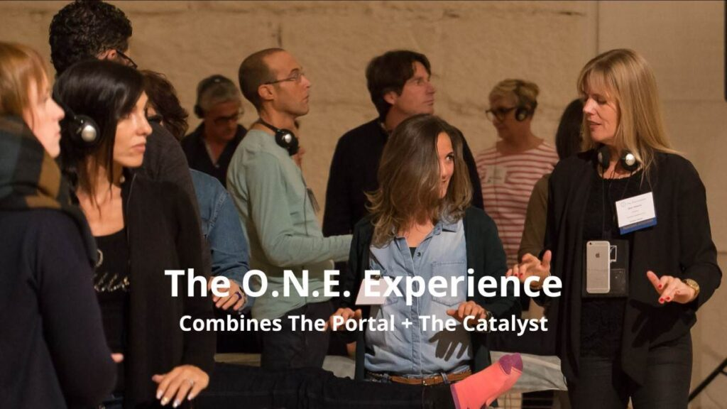 The one experience - the portal and the catalyst